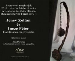 Jeney Zoltán és Incze Péter kiállítása