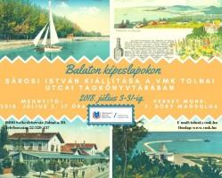 Balaton képeslapokon