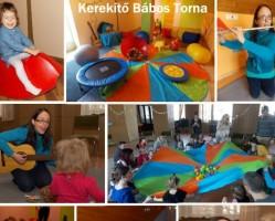 KEREKÍTŐ Bábos Torna, baba-mama foglalkozás 6 hónapos – 3 éveseknek