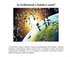 Az űrállomások a fejünkre esnek?