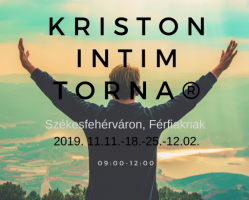 Kriston intim Torna Alaptanfolyam - férfiaknak