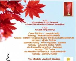 VIII. Székesfehérvári Kamarakórus Fesztivál