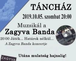 Koncert és Táncház a Zagyva Bandával