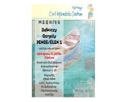 Dabóczy Gergely - PENGE/ÉLEN 2 tárlatmegnyitója