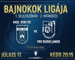 MOL Vidi FC - F91 Dudelange