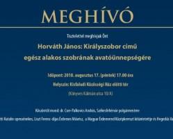 Horváth János: Királyszobor