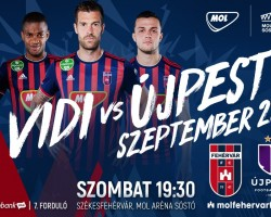 MOL Fehérvár FC - Újpest FC