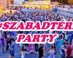 Szabadtéri salsa party