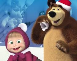 Masha és a Medve Live - Karácsonyi kaland