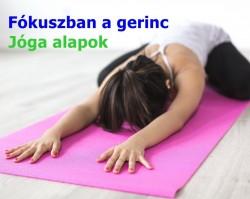 Gerinc átmozgató jóga tanfolyam - Kezdőknek, újrakezdőknek! Szenioroknak is!