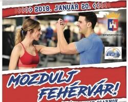Mozdulj, Fehérvár! - tematikus sportnap sztárfellépőkkel