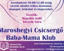Maroshegyi csicsergő Baba-Mama Klub
