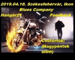 Blues Company & Hangár21 & Feedback buli