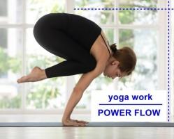Power Flow - Yoga Work ászana gyakorlás