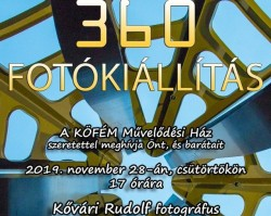 """Fotokiállítás - Kővári Rudolf: """"360"""""""