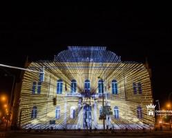 3D-s épületvetítés // Székesfehérvári Királyi Napok