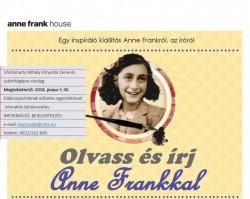 Olvass és írj Anne Frankkal