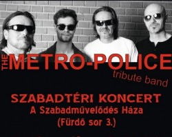 The Metro-Police tribute band koncert