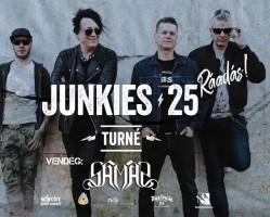 Junkies koncert, vendég: Samas