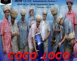 Rügyfakasztó Coco Loco koncert