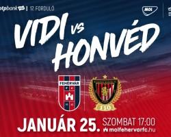 MOL Fehérvár FC - Budapest Honvéd FC