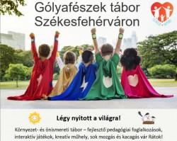 Gólyafészek nyári gyerektábor 2020.