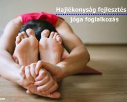 Hajlékonyság fejlesztő hatha jóga
