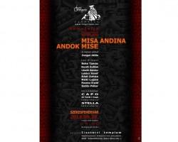 MISA ANDINA - ANDOK MISE Koncert Székesfehérvár Ciszterci templom