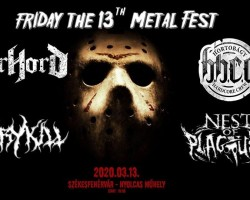 Friday the 13th - HHCC, Morhord, Nest Of Plagues, Glorykill # Nyolcas Műhely