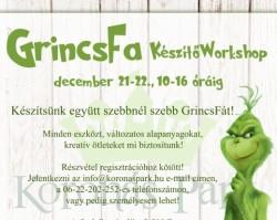 GrincsFa készítő workshop