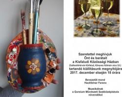 A Kisfaludi Művészkör éves kiállítása