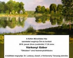 Várkonyi Gábor festménykiállítása