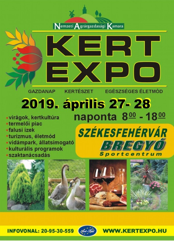 e8b05a1cc2 KERT-EXPO Mezőgazdasági és Kertészeti kiállítás és vásár ...