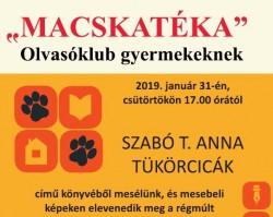 Szabó T. Anna: Tükörcicák - Macskatéka Olvasóklub