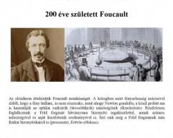 200 éve született Foucault