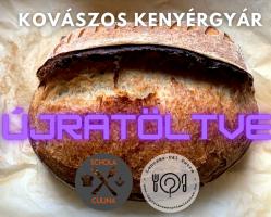 Kovászos kenyérgyár ÚJRATÖLTVE