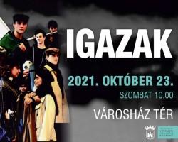 Igazak – ünnepi műsor október 23-án
