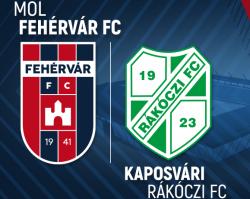 MOL Fehérvár FC - Kaposvári Rákóczi FC