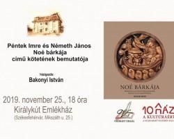Péntek Imre – Németh János: Noé bárkája könyvbemutató