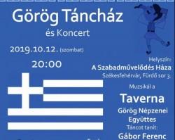 Görög Táncház a Taverna zenekarral