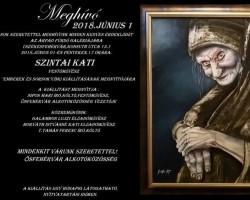 Szintai Kati festőművész kiállításmegnyitója