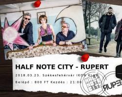 Rupert, Half Note City
