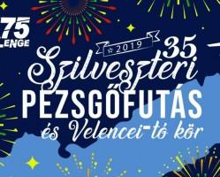35. Szilveszteri Pezsgőfutás és Velencei-tó kör
