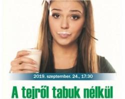 A tejről tabuk nélkül