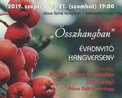 Vox Mirabilis Kamarakórus Hangversenybérlet Évadnyitó koncert