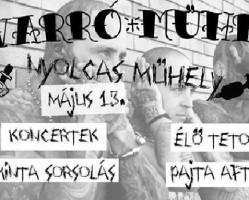 Varró-Műhely: élő tetoválás készítés, mintasorsolás, koncertek: Prey, Lastmanstanding, Recalling Dreams + Pajta After