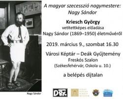 A magyar szecesszió nagymestere: Nagy Sándor
