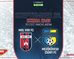 MOL Vidi FC - Mezőkövesd Zsóry FC