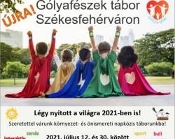 Gólyafészek nyári gyerektábor 2021. - 1. turnus
