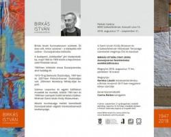 Birkás István emlékkiállítása